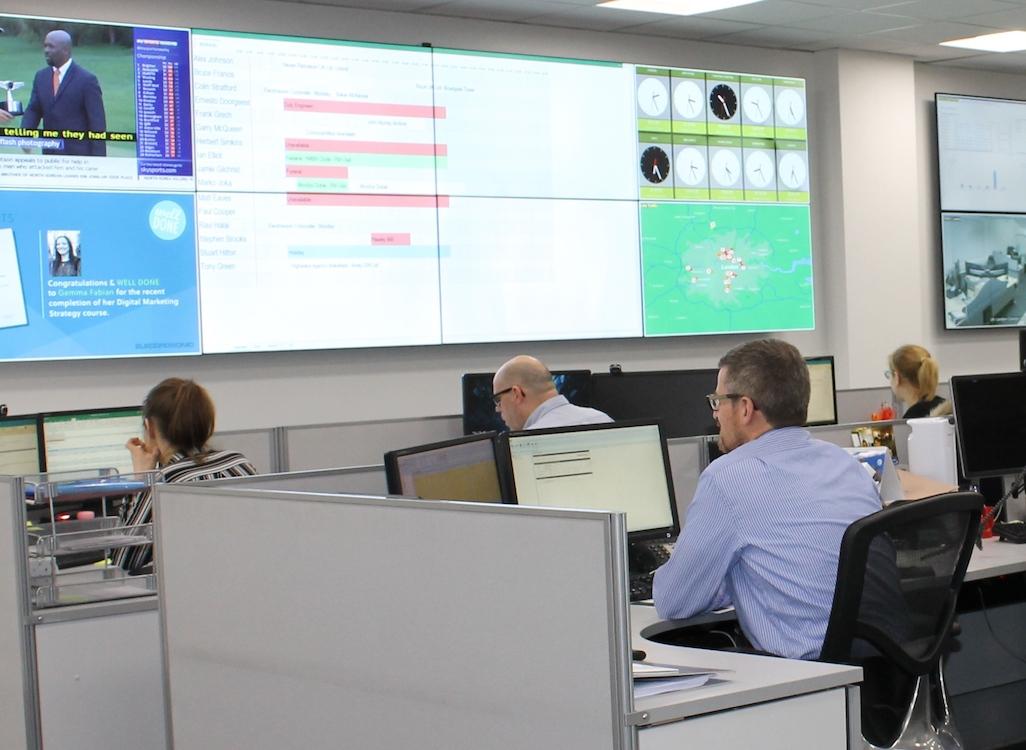 Neuer Control Room von Electrosonic in Großbritannien (Foto: eyevis)