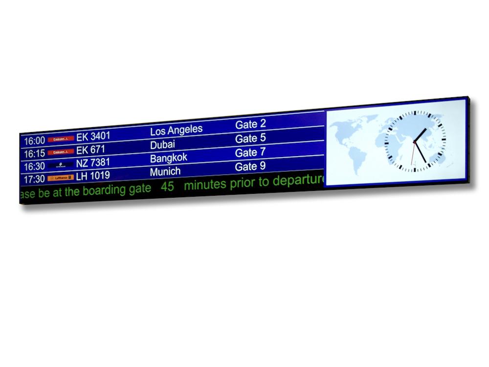 Neuer Ultra Stretched 4K Screen von Conrac (Foto: data Modul AG)
