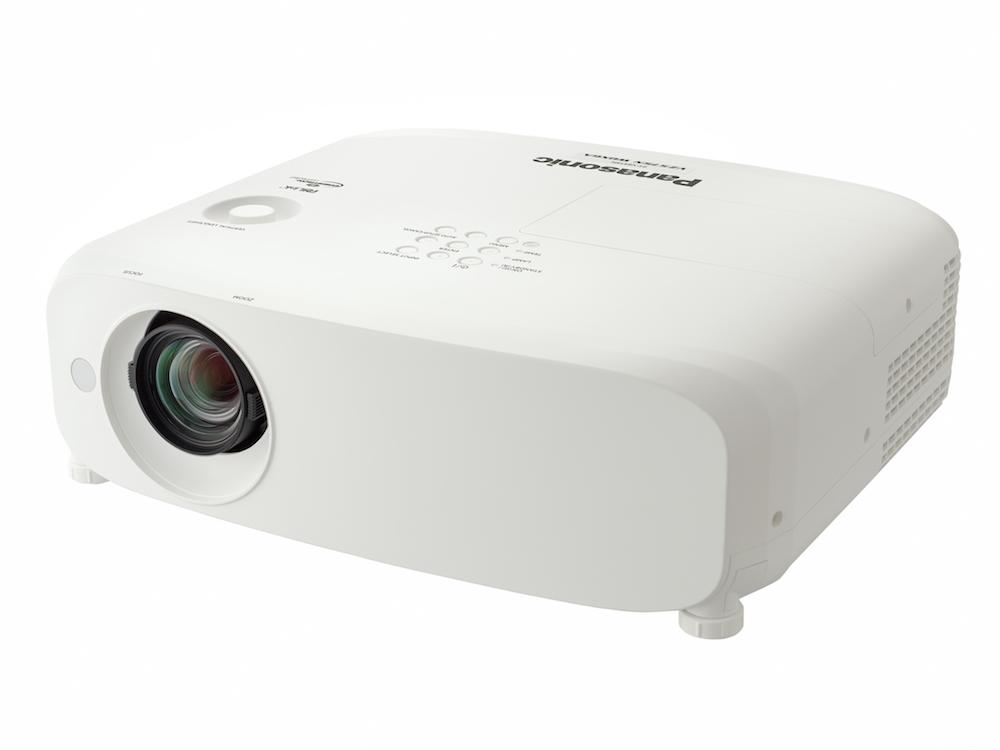 Mit der Reihe PT-VZ580 setzt Panasonic auf mobile Projektoren mit diversen Anbindungsmöglichkeiten (Foto: Panasonic)