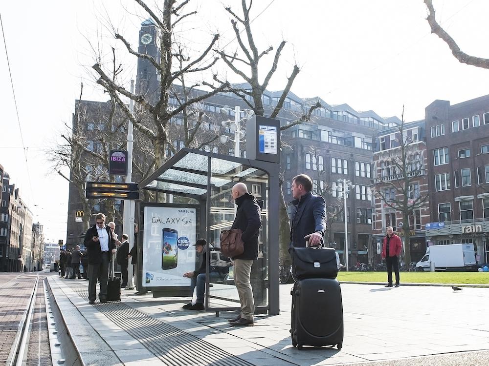 Street Furniture von JCDecaux in Amsterdam (Foto: JCDecaux)