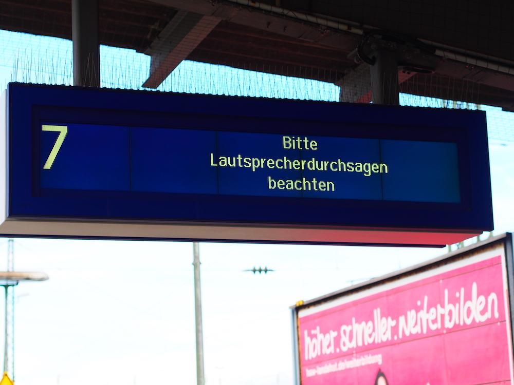 Trojaner-Angriff betraf am Wochenende auch die Deutsche Bahn (Foto: invidis)