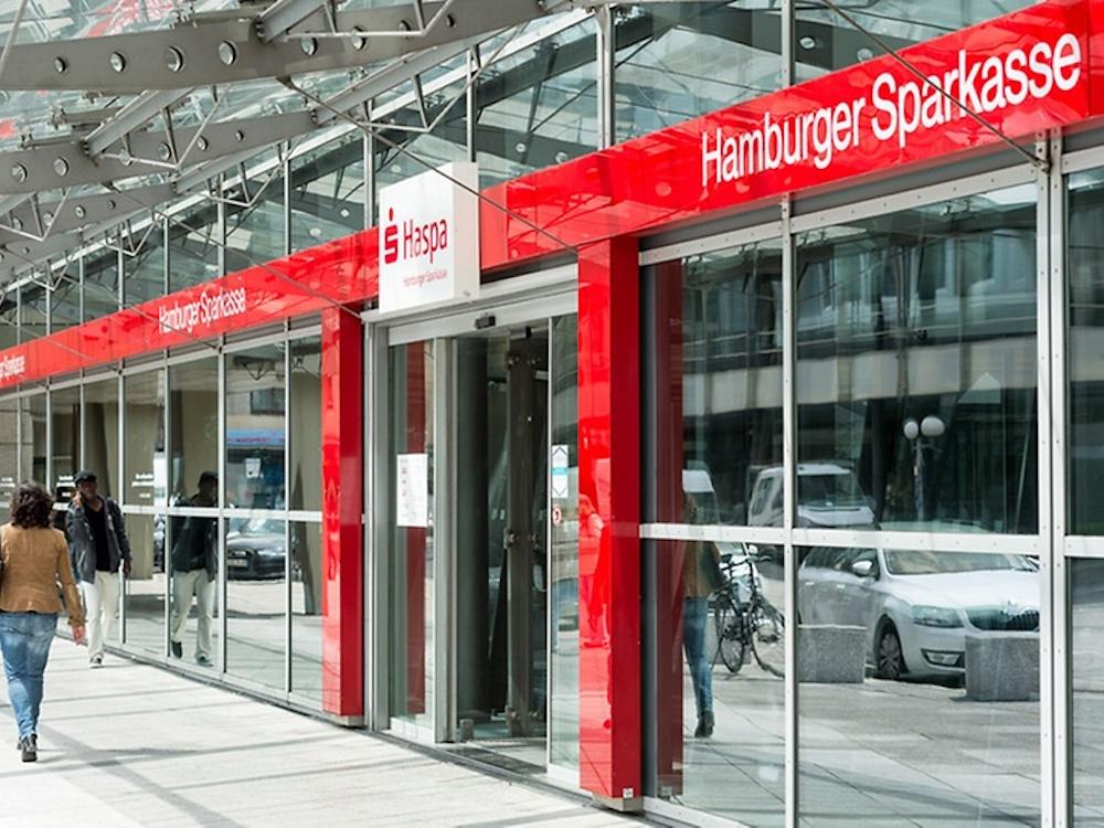 Zentrale der Hamburger Sparkasse (Foto: Hamburger Sparkasse)