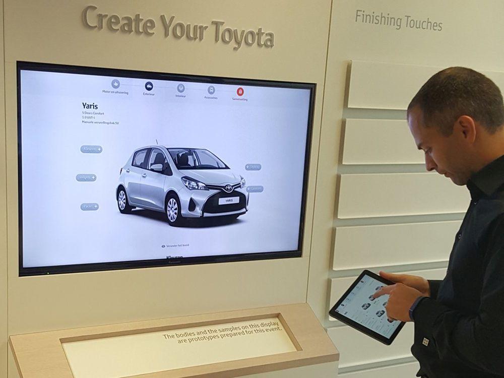 Google und Fourcast präsentieren 10.000 Screens Case bei Toyota (Bild: Google)