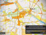 xMapper Heatmap zur Kampagne (Grafik: Dentsu Aegis)