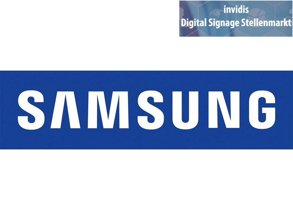 Samsung sucht Technical Presales Consultant für Displays (m/w