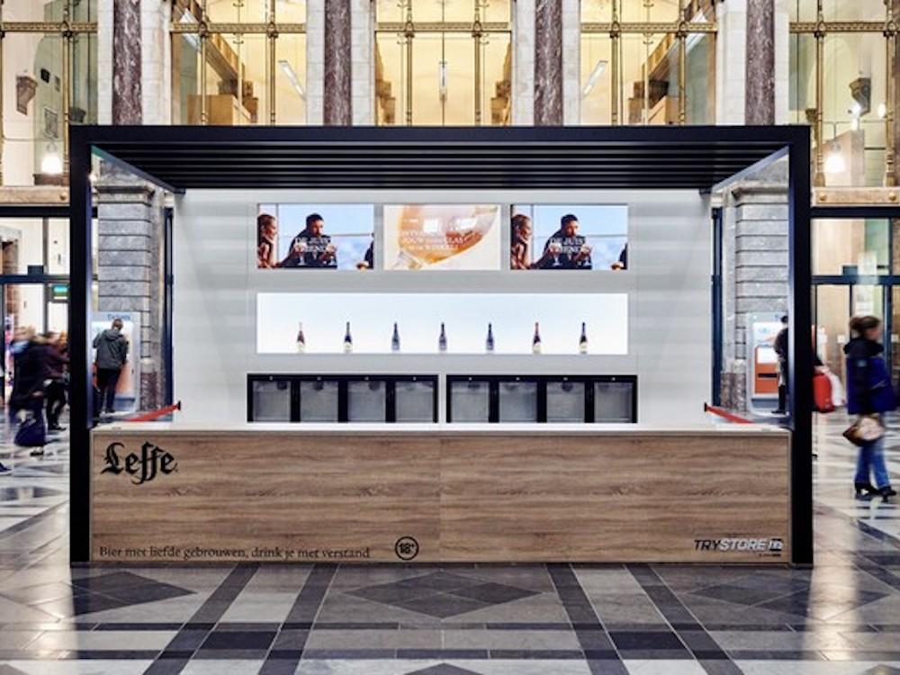 AB InBev setzte als erster Werbungtreibende den TryStore ein (Foto: Clear Channel)