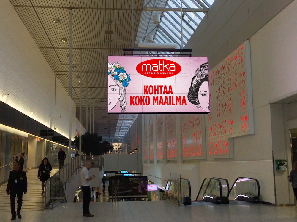 Digital Signage-Installation von Seasam in einer Shopping Mall.jpg (Foto: Seasam)