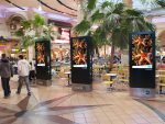 DooH Screens des Mall Video Channel von Infoscreen im CentrO (Foto: Infoscreen)