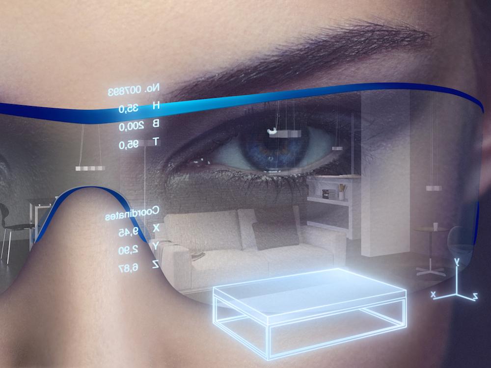 IRED-Bauteile versorgen das Eye-Tracking von AR Brillen (Foto: Osram Opto Semiconductors)