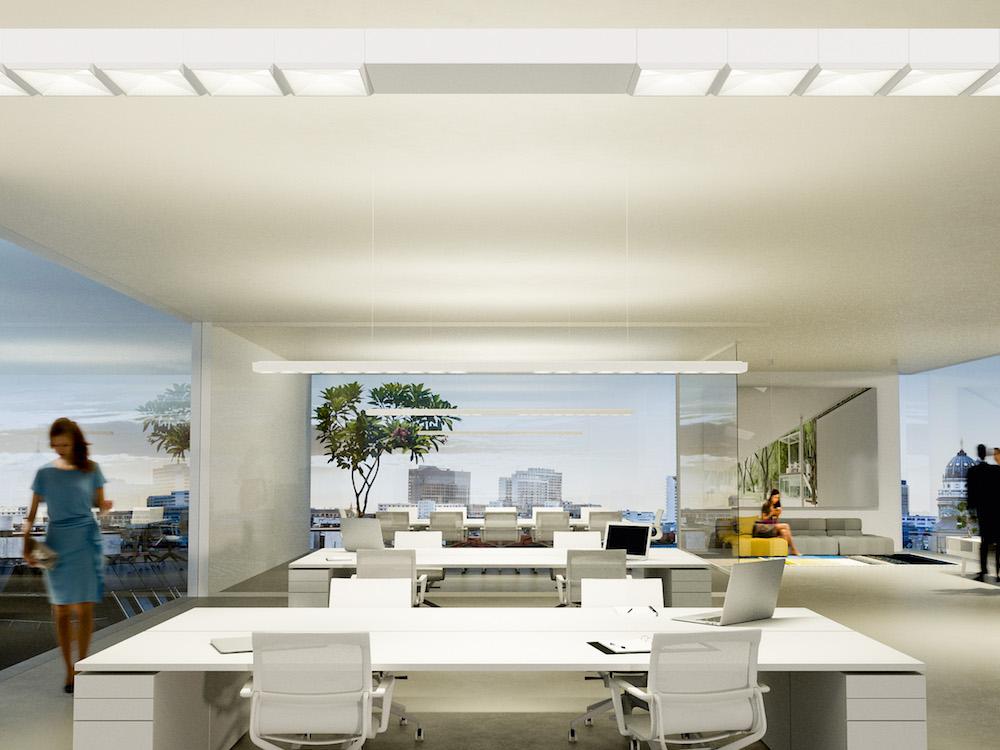 LED Lighting in einem Büro – Symbolbild (Foto: Osram)