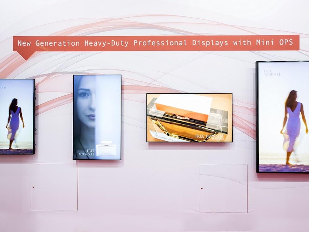 Mini-OPS ist eine der Optionen bei den neuen Screens (Foto: Sharp)