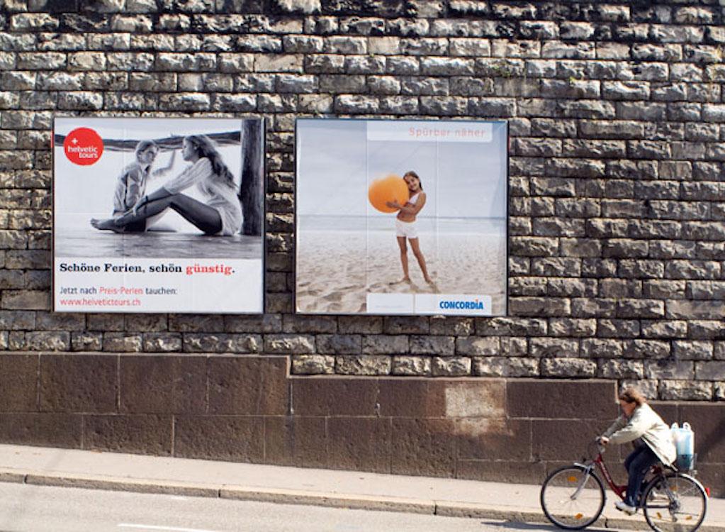 Plakate an Plakat-Stellen in Zürich, Symbolbild (Foto: Stadt Zürich)