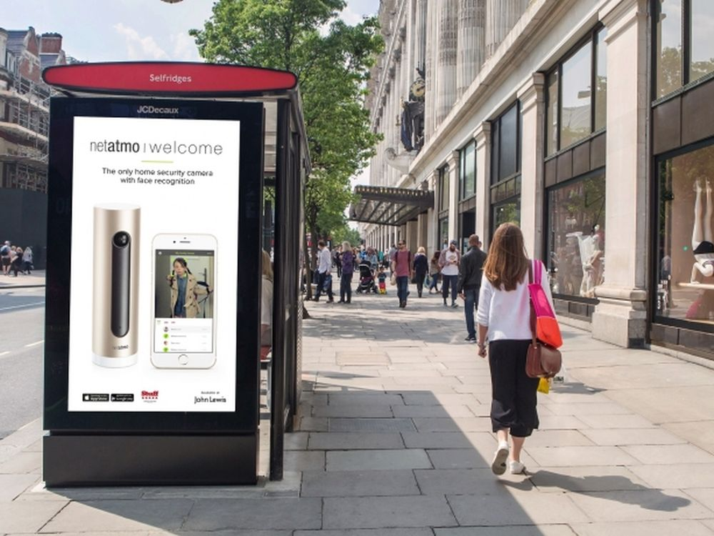 Screen des LDN Netzwerks in London (Foto: JCDecaux)