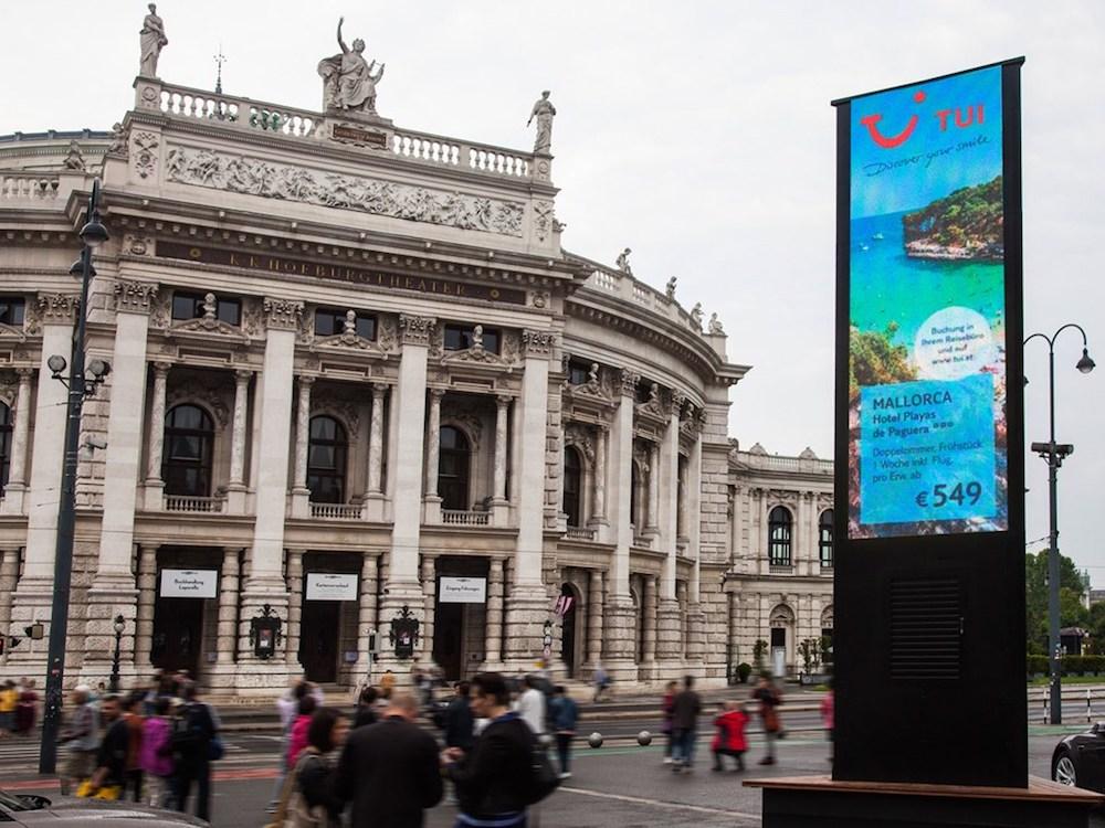 TUI Österreich gehörte zu den Marken die bei dem Event warben (Foto: Epamedia)