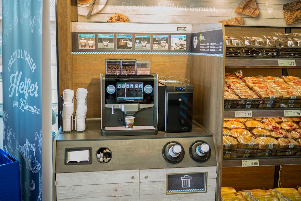Den Coffee to Shop kann man sich selbst ziehen (Foto: Aldi Nord)