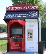 Die Pizza Vending Machines sind durch die Touchtechnologie deutlich attraktiver geworden (Foto: Zytronic)