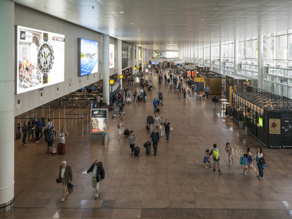 Eingangshalle am Airport in Brüssel (Foto: Brussels Airport Company)