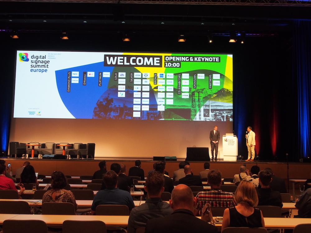 Eröffnung des DSS Europe 2017 in München (Foto: invidis)