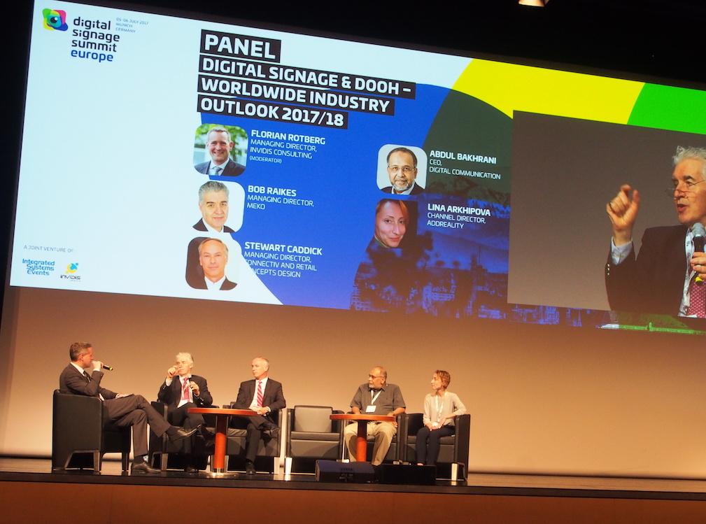 Gaben einen Ausblick auf die Zukunft des Marktes (v. l.): Florian Rotberg, Bob Raikes, Stewart Caddick, Abdul Bakhrani und Lina Arkhipova (Foto: invidis)