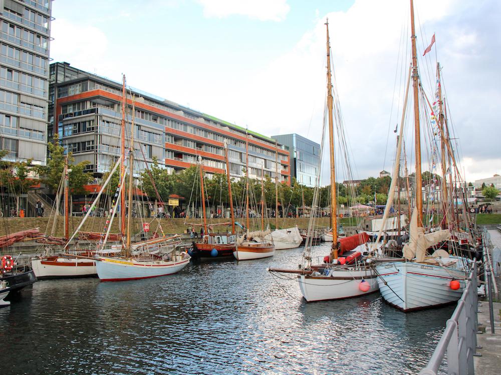 Germaniahafen in Kiel (Foto: Landeshauptstadt Kiel / Barbara Westendorf)