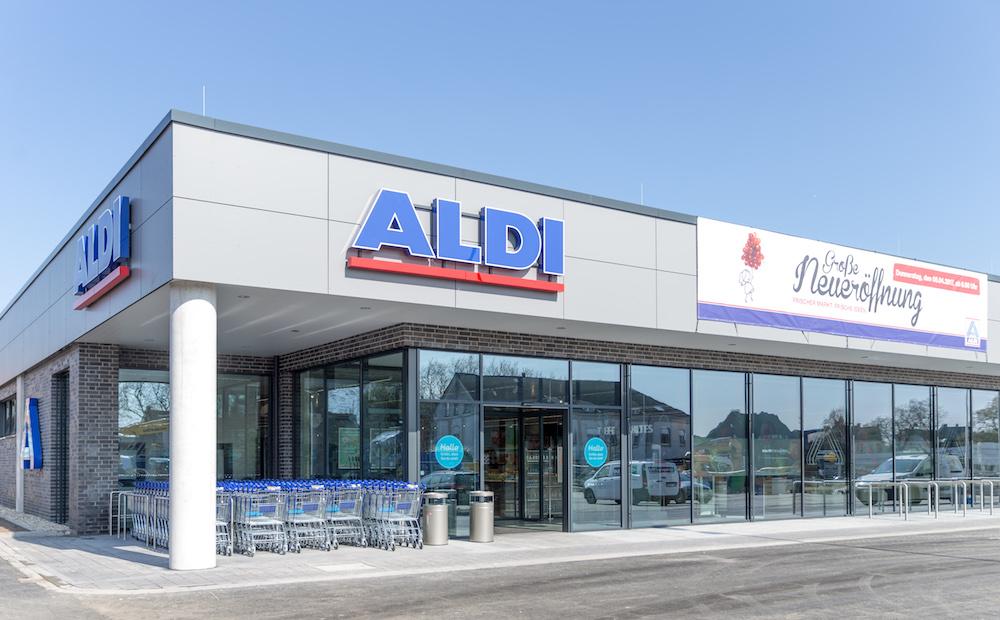 Im Aldi Nord in Herten wurde das neue Konzept erstmals umgesetzt (Foto: Aldi Nord)