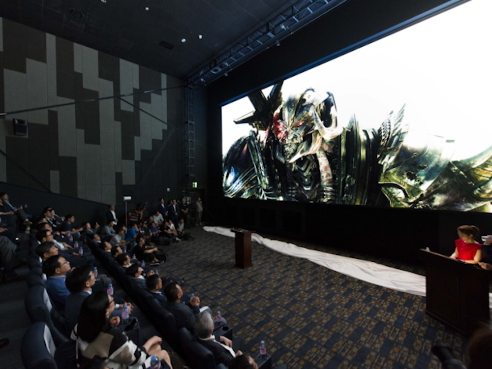 LED Digital Cinema Screen von Samsung in Seoul (Foto: Samsung)