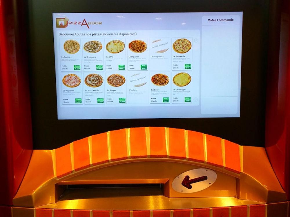 Mit PCAP Technologie wurde die Benutzererfahrung an den Vending Machines verbessert