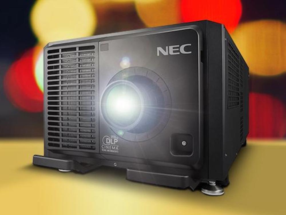 Neuer Laser-Projektor NC3541L (Foto: NEC)