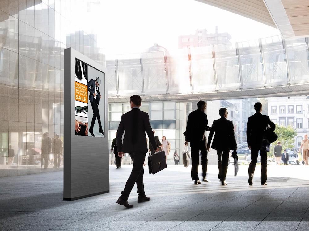 Outdoor Screen aus der OHF Serie (Foto: Samsung)
