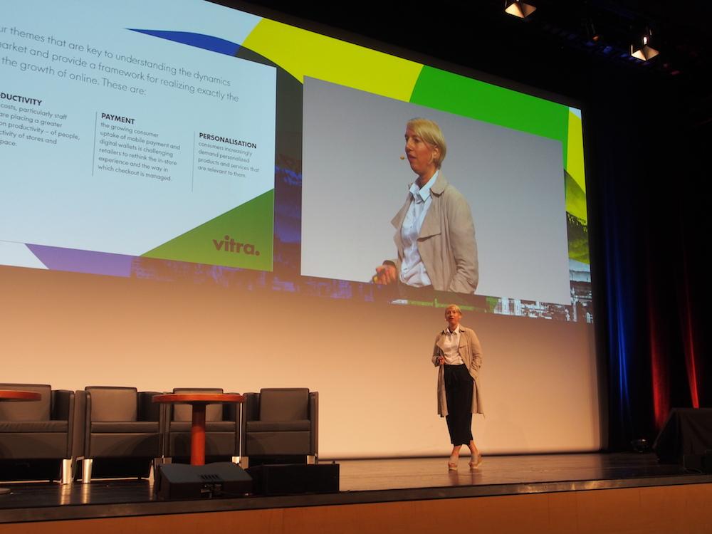 Sabine Krieg sprach über aktuelle Trends für den Handel (Foto: invidis)