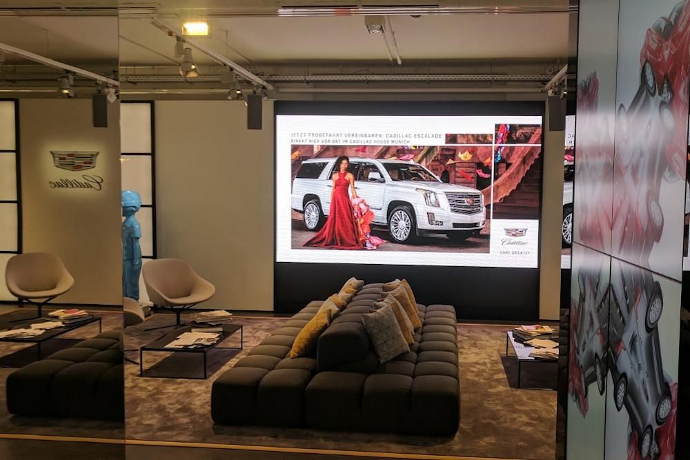 Vorbild für den Pop up ist Cadillacs Showroom in SoHo (Foto: invidis)
