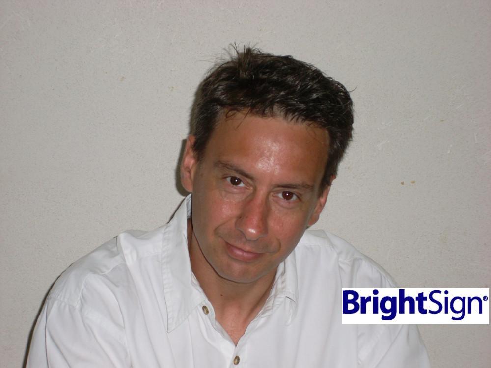 Brightsign VP Intl Pierre Gillet (Foto: Brightsign)