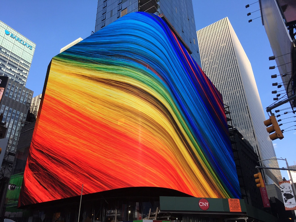 NYC 20 Times Square - 8mm LED Wall (Foto: SNA)