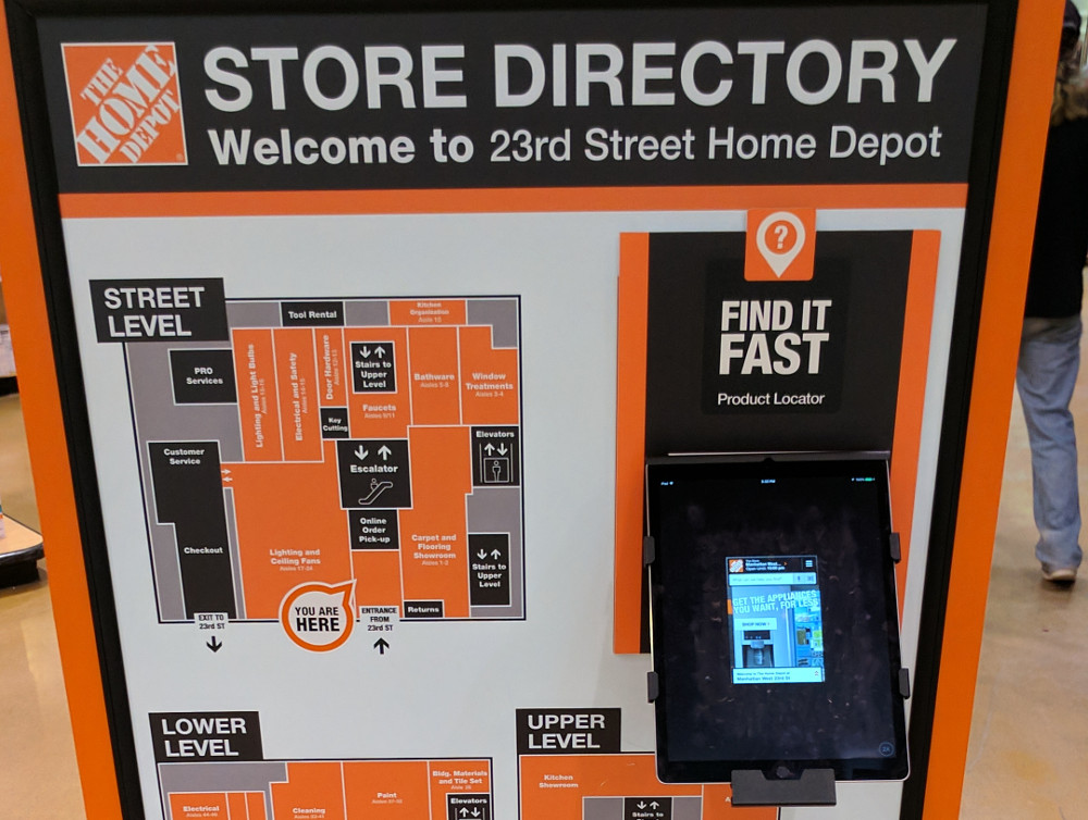 Home Depot Store Directory (Foto: invidis)