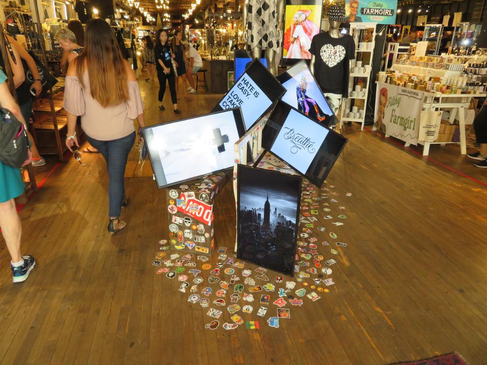 Kreativ Displays - entdeckt in NYC SoHo (Foto:invidis)