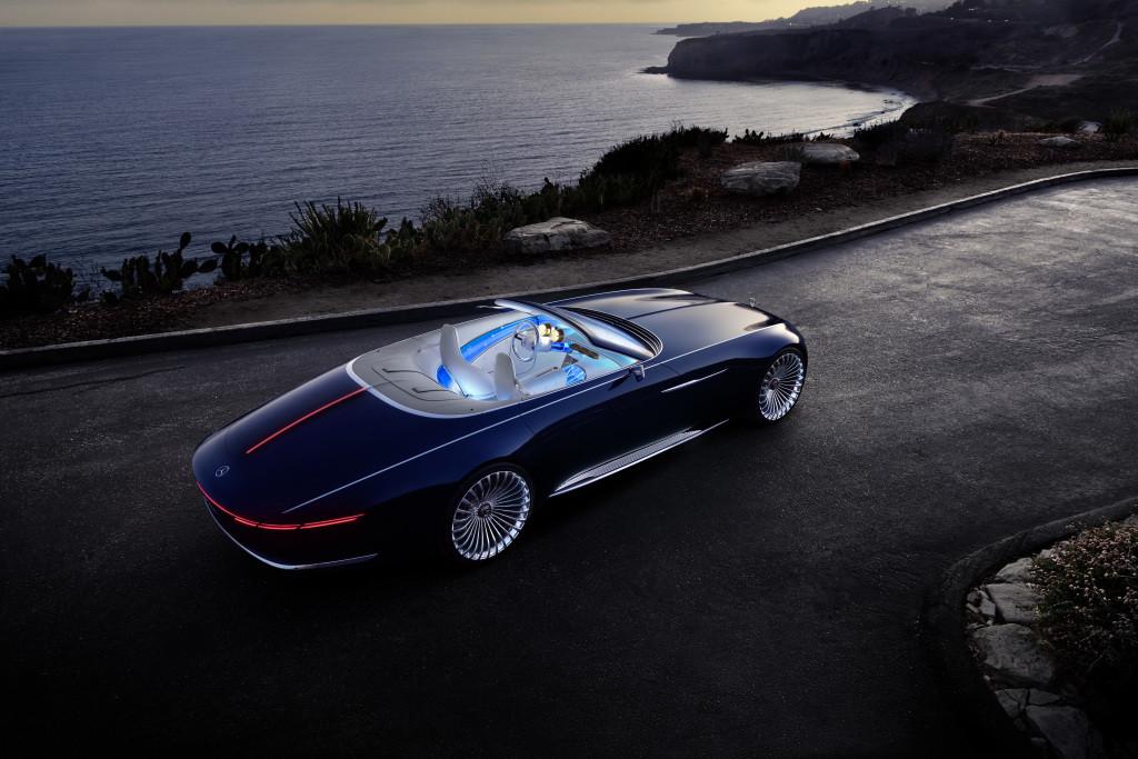 Vision Mercedes-Maybach 6 Cabriolet (Foto: Daimler)