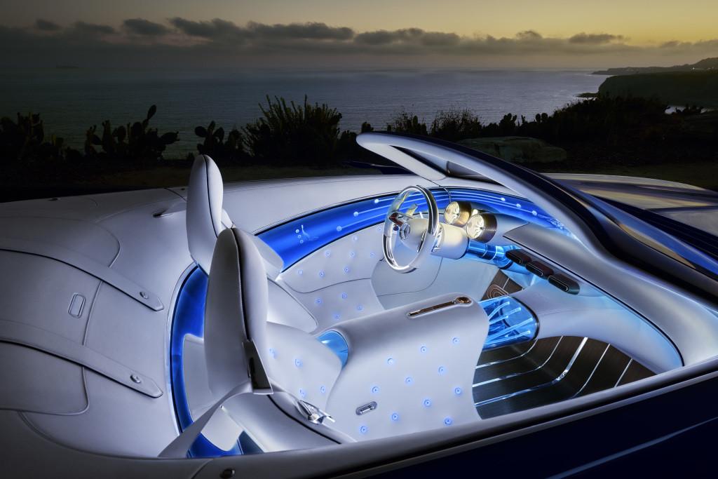 Interieur Vision Mercedes-Maybach 6 Cabriolet (Foto: Daimler)