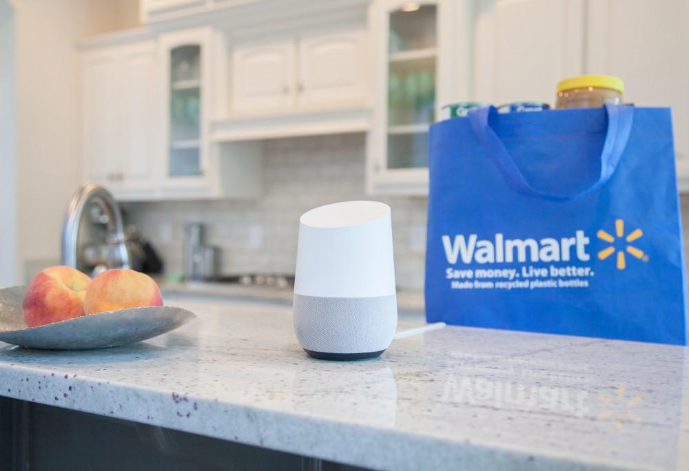 Google und Walmart Voice Shopping (Foto: Walmart)