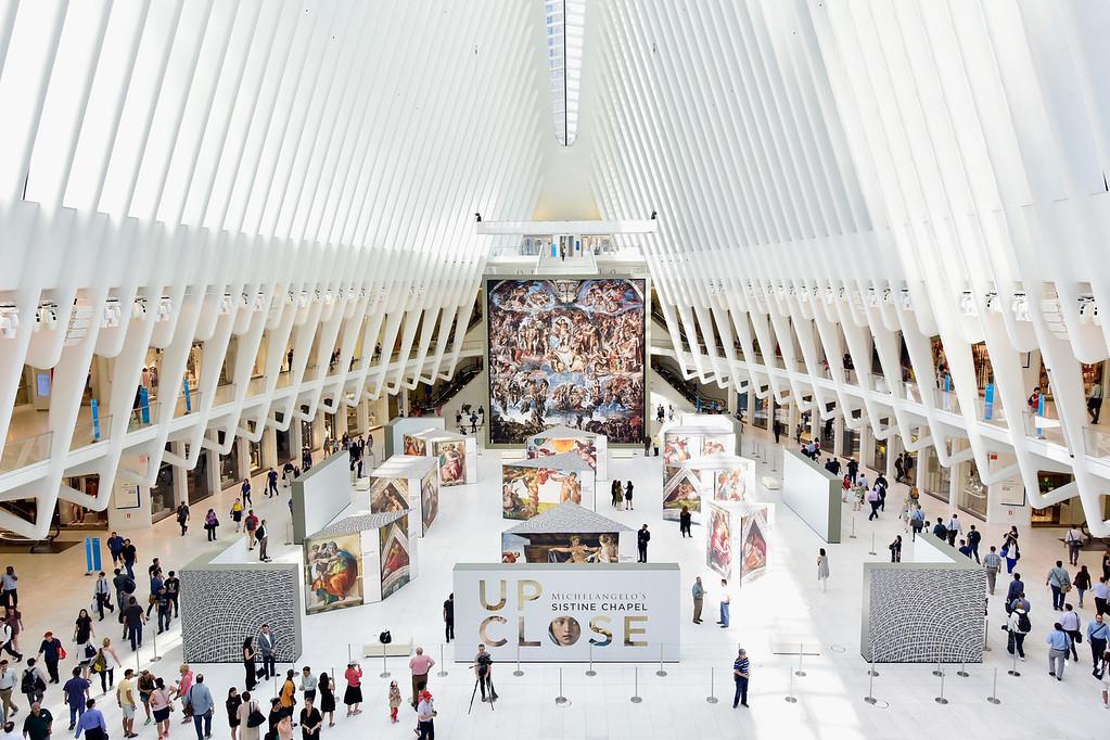 Westfield WTC Austellung Sixtinische Kapelle (Foto:Westfield)