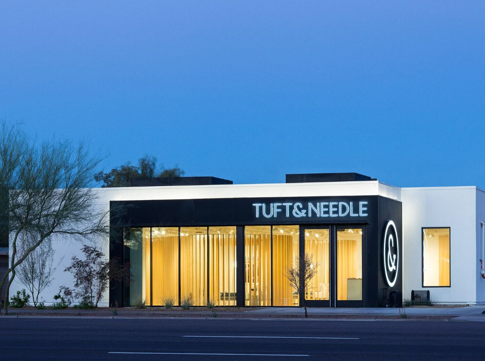 Tuft & Needle Store in Scottsdale AZ (Foto: Tuft & Needle)