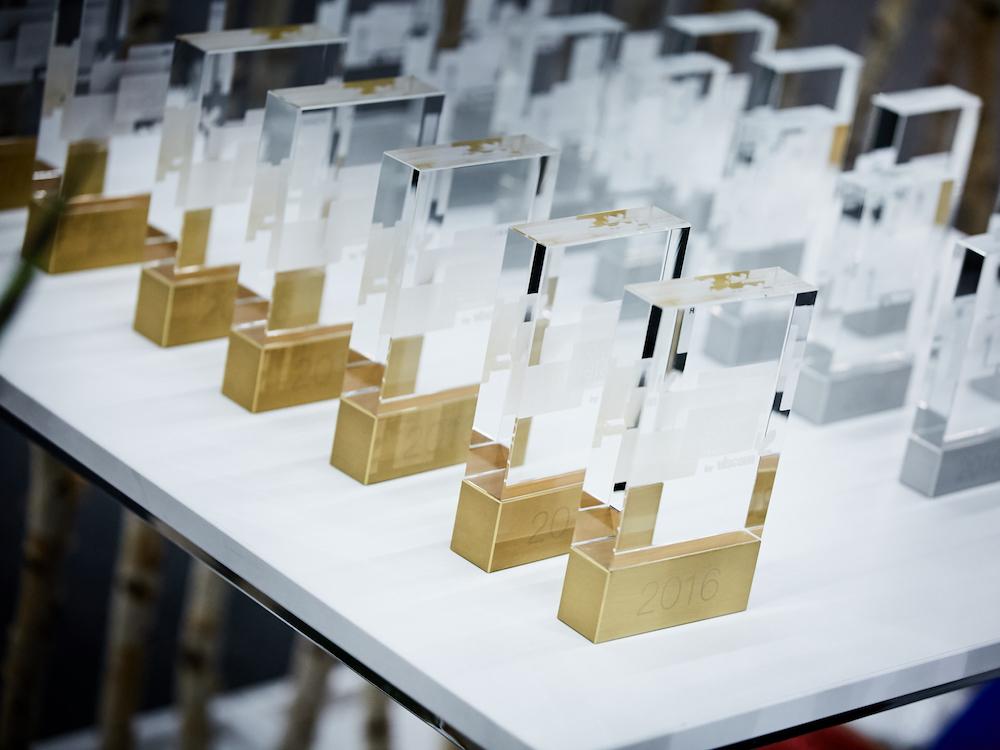 Begehrte Auszeichnung – Digital Retail Award (Foto: viscom / Behrendt und Rausch)