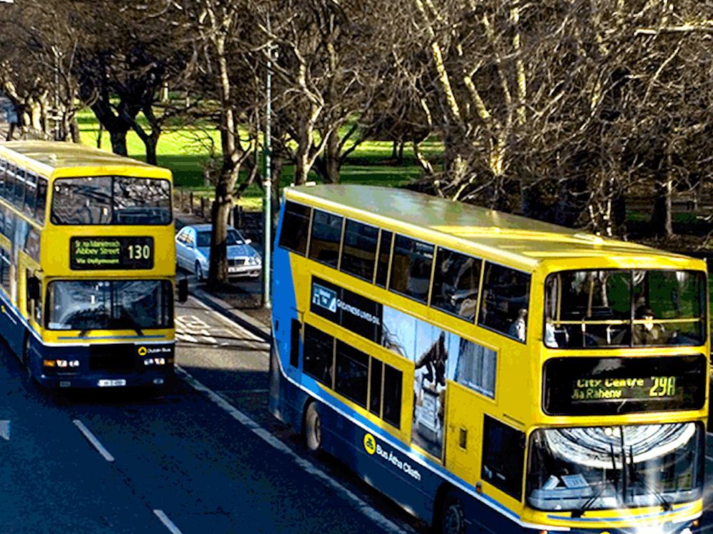 Busse in Dublin (Foto: CIE)