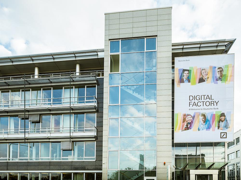 Die Digitalfabrik der Deutschen Bank in Frankfurt am Main (Foto: Deutsche Bank)