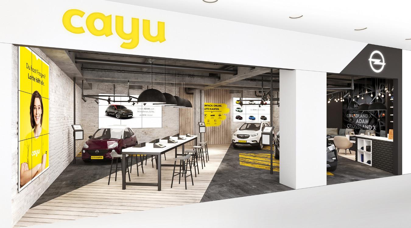 Opel Cayu Inner-City Showroom (Foto: opel)