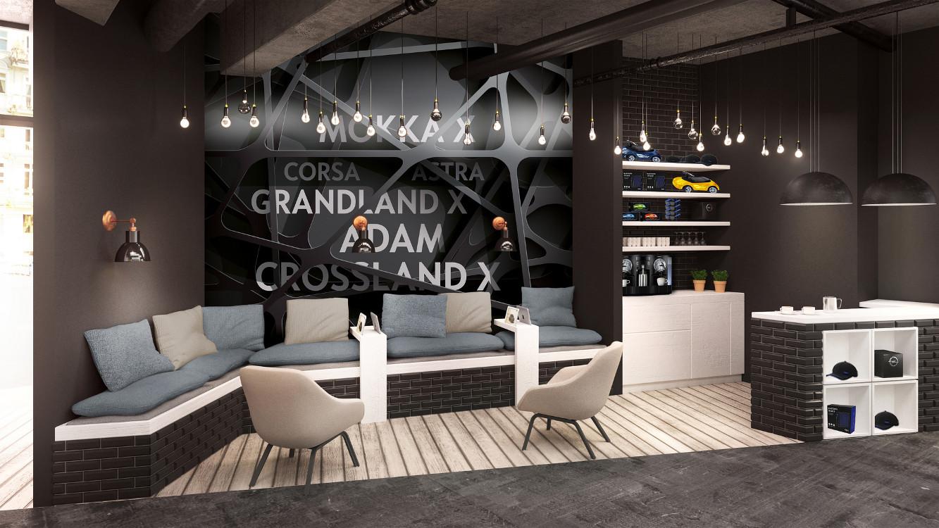 Opel Cayu Lounge in Stuttgart (Foto: Opel)
