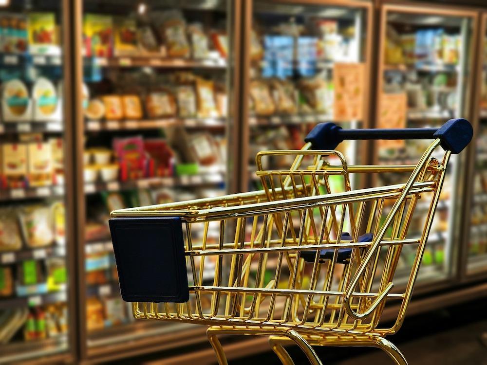 Einkaufswagen in einem Geschäft – Symbolbild (Foto: Pixabay / Alexas_Fotos)