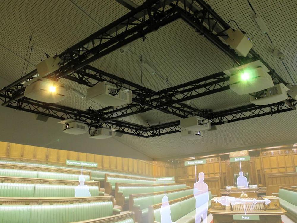 Intelligente Projektionstechnologie sorgt für den Lerneffekt (Foto: Electrosonic)