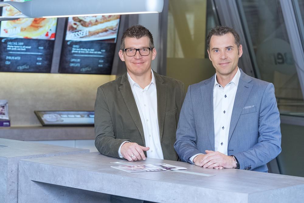 Markus Dirk und Marc Rassier (Foto: BenQ)