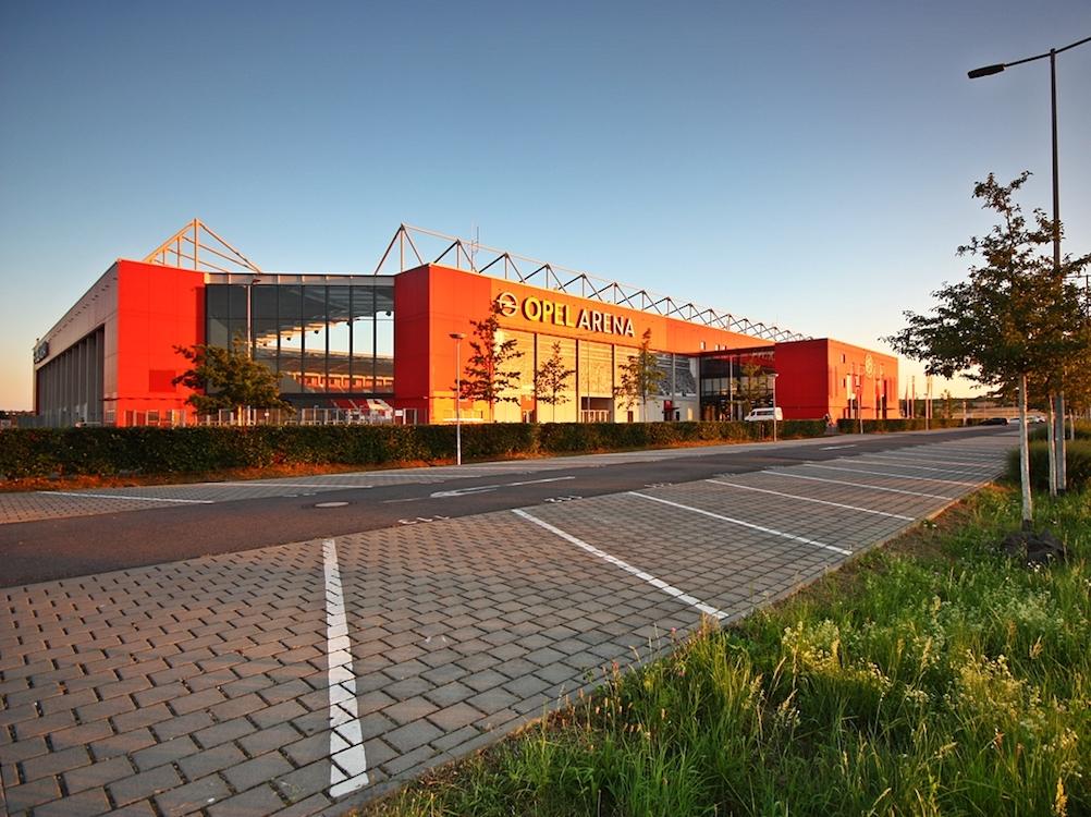 Mit einer neuen Kasseninfrastruktur geht die Opel Arena in die neue Saison (Foto: Opel Arena)