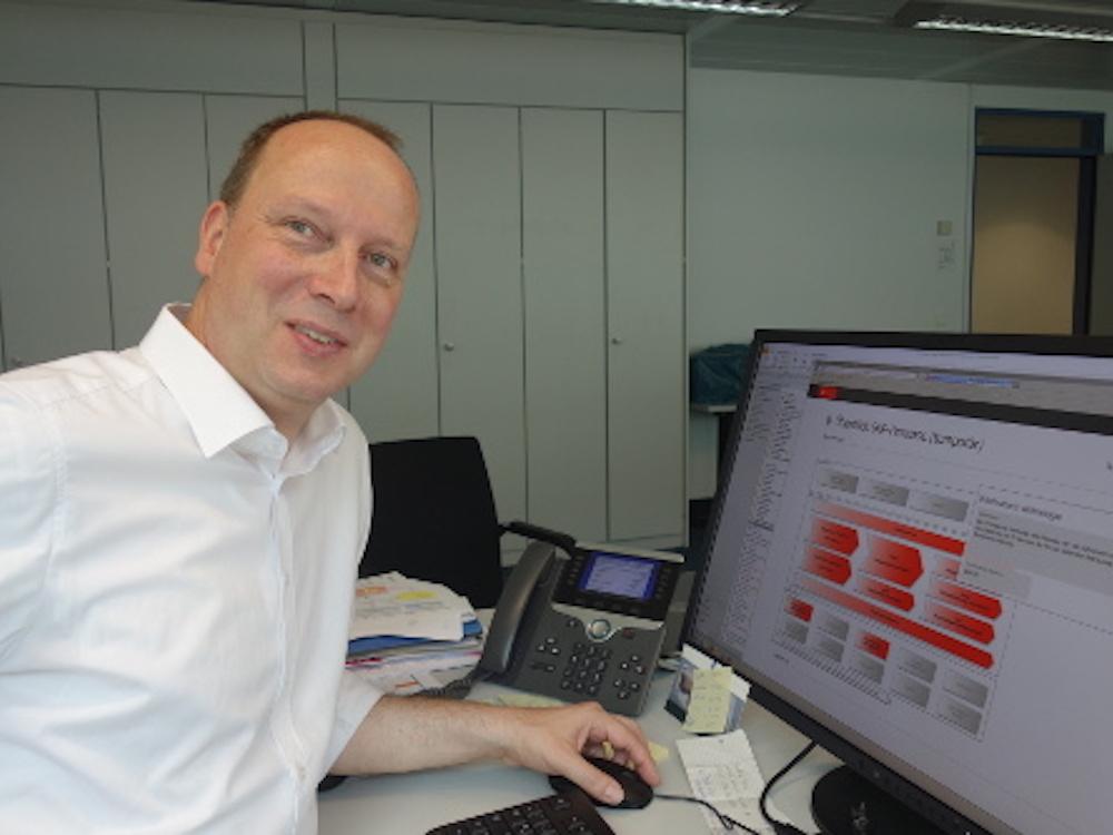 S-Kreditpartner – IT-Leiter Dr. Stefan Lenkmühler (Foto: Eizo)